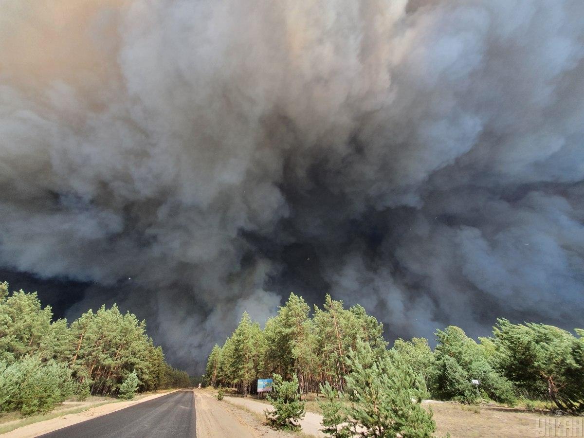 Пожары в Луганской области будет тушить авиация